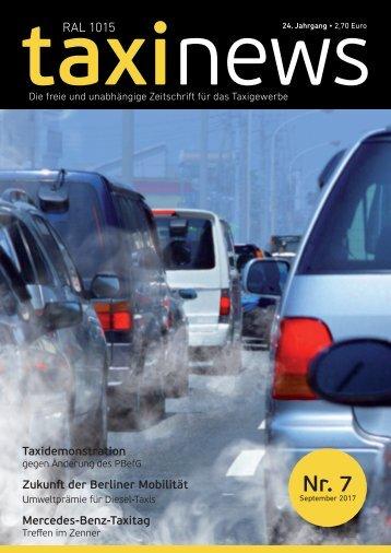 RAL 1015 taxi news Heft 7-2017