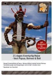 PapuaBorneoBali2