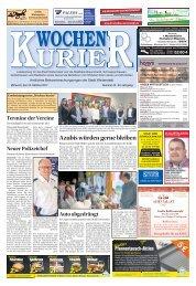 Wochen-Kurier 42/2017 - Lokalzeitung für Weiterstadt und Büttelborn