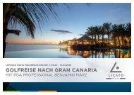Golfreise Gran Canaria mit Benjamin März 08.03. - 15.03.2018