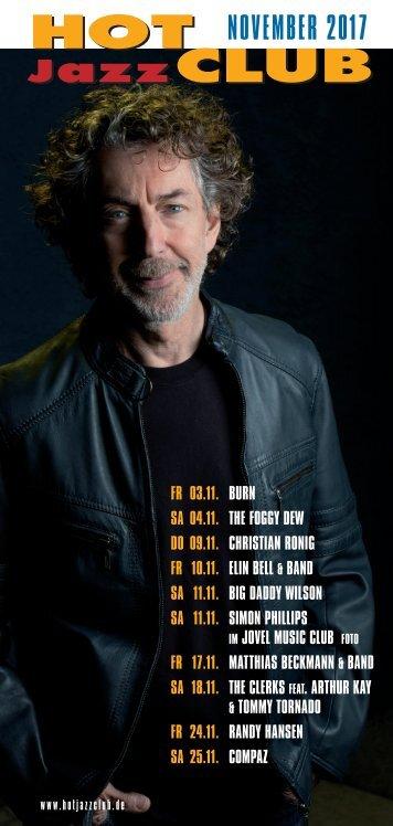 Hot Jazz Club - November 2017