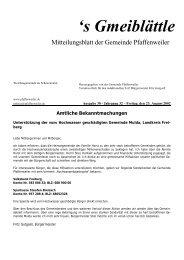 's Gmeiblättle - Suedlicht GmbH