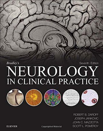 Bradley's Neurology in Clinical Practice (Seventh Edition - 2015)