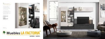 Salones Modernos (+ aparadores y mesas)