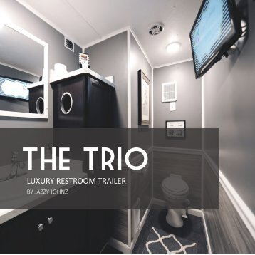 Trio (3-Station) Luxury Restroom Trailer