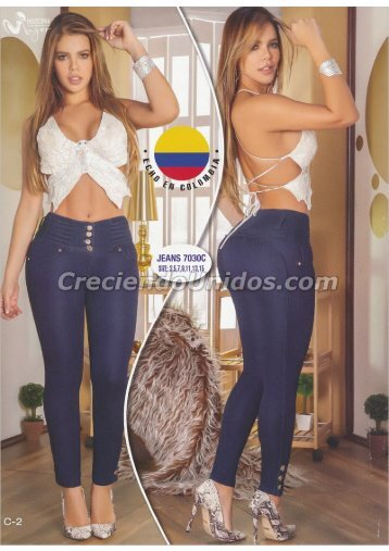 Pantalones Colombianos colombian fashion por mayoreo
