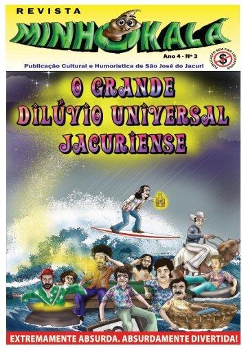 O GRANDE DILÚVIO UNIVERSAL JACURIENSE