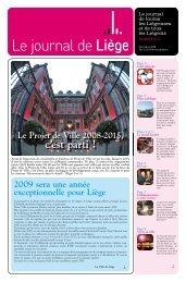 Votre Journal de Liège de décembre 2008