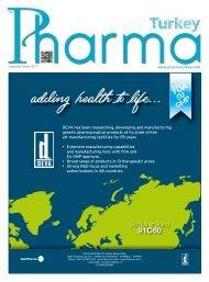 Pharma Turkey Dergisi Eylül – Ekim  2017 Sayısı