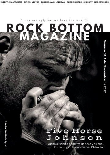 Rock Bottom Magazine Número 00.
