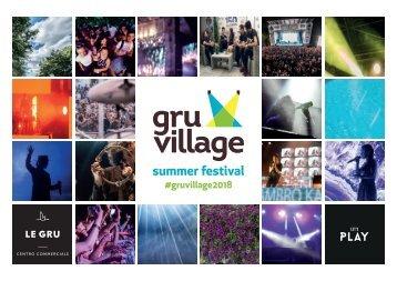 GruVillage 2018 - presentazione