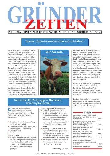 gründer zeiten - business angel team GmbH