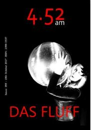 4.52am Issue: 055 19th October 2017 - The Das Fluff Issue