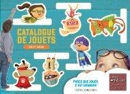 Catalogue de jouets 2017 - 2018