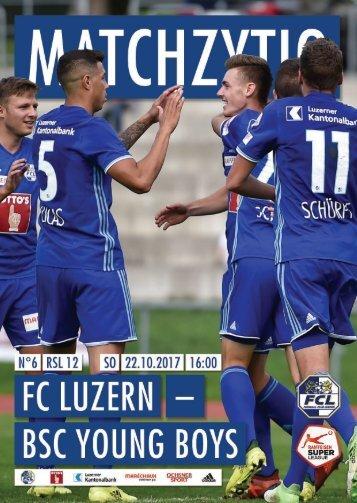 FC LUZERN MATCHZYTIG N°6 1718 (RSL 12)