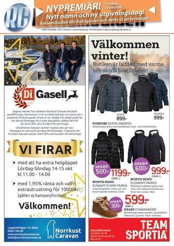 ReklamGuiden Kalix v42 -17 (16/10-22/10)