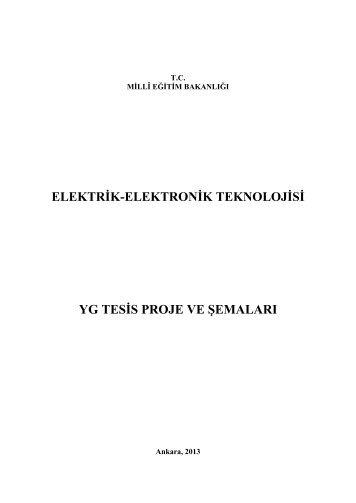 Yg Tesis Proje Ve Şemaları