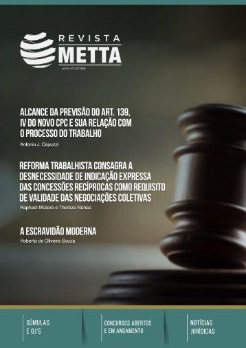 Revista METTA - Nº 3