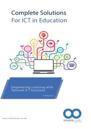 ICT Solutions for Education - Summer 2017