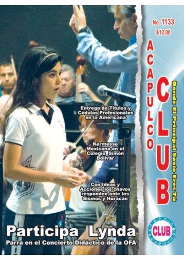 Revista Acapulco Club 1133