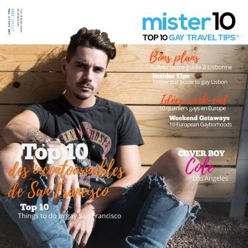 mister10, Top 10 Gay Travel Tips - Fall '17