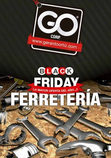 CATALOGO DE FERRETERIA BLACK FRIDAY