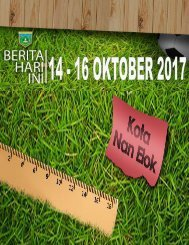 e-Kliping  14 s/d 16 Oktober 2017