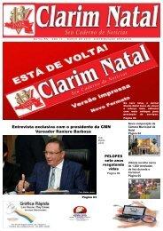 JORNAL CLARIM NATAL - MARÇO 2017