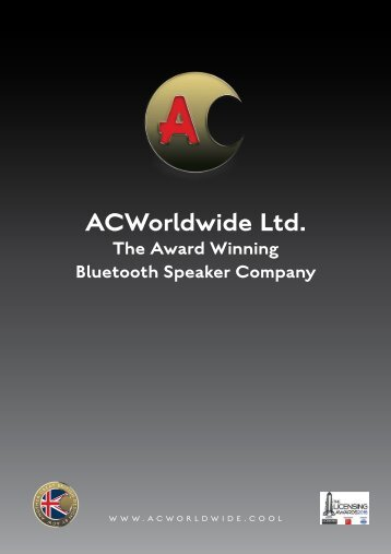 ACW Bluetooth Speakers