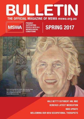MSWA Bulletin Magazine Spring