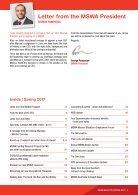 MSWA Bulletin Magazine Spring  - Page 3