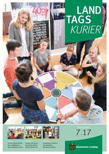 Landtagskurier, Ausgabe 7/2017