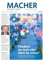 MACHER - Menschen + Märkte Ausgabe 10 - Oktober 2017