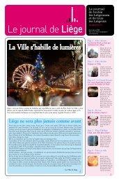 Votre Journal de Liège de décembre-2009