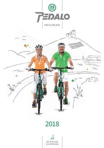 PEDALO Radwander-Katalog 2018