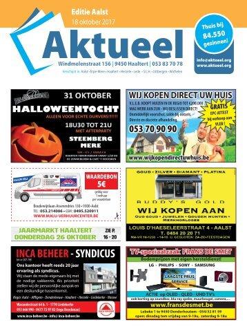 Editie Aalst 18 oktober 2017