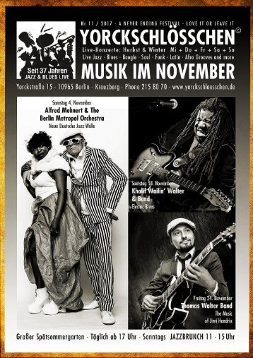 Das Novemberprogramm
