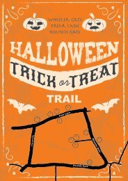 Hallowen Trail Map