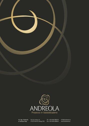 Andreola catalogue 2017