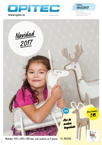 "OPITEC Cátalogo ""Navidad 2017"" España (T007)"