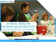 Public Health Nurses Mailing List