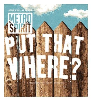 Metro Spirit - 10.05.17