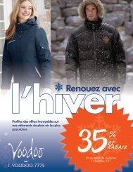 Catalogue Renouez Avec l'Hiver 2017 - Voodoo Objets Promotionnels