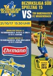 20171021 Fuggermärktler TSV 1862 Babenhausen - FC Wiggensbach