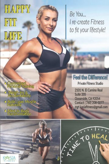 HappyFitLife Flyer