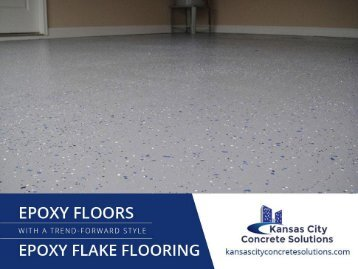 Importance and Benefits of Flake Epoxy Flooring
