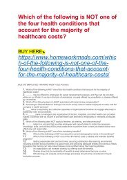 Which of the following is NOT one of the four health conditions that account for the majority of healthcare costs?