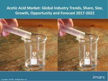 Global Acetic Acid Market Trends, Share, Size and Forecast 2017-2022