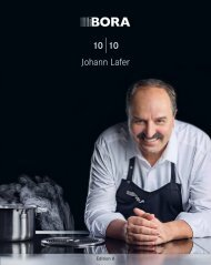 BORA 10|10 Kochbuch – Johann Lafer