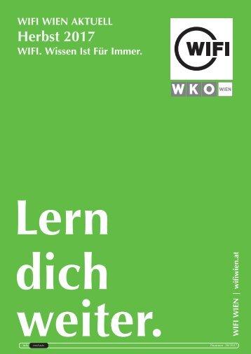 WIFI Wien Info Exclusiv - Herbst 2017